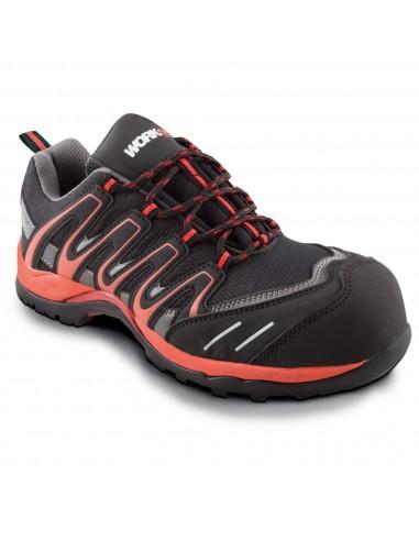 Zapato Workfit Trail Rojo